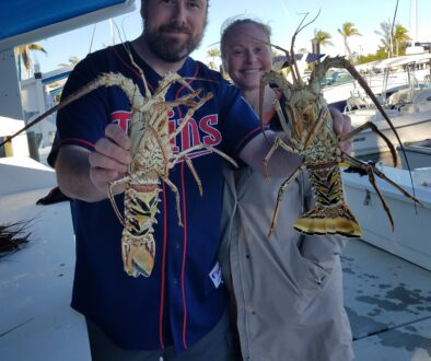 Lobsters in January – great fun